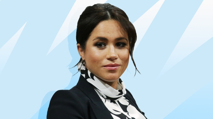 treated photo of meghan markle