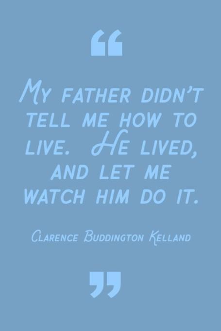 Best Dad Quotes: Clarence Buddington Kelland