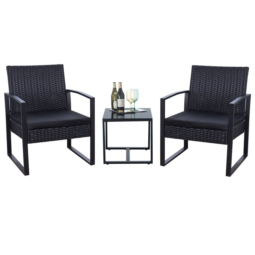 Affordable Outdoor Furniture: Flamaker 3 Piece Patio Set