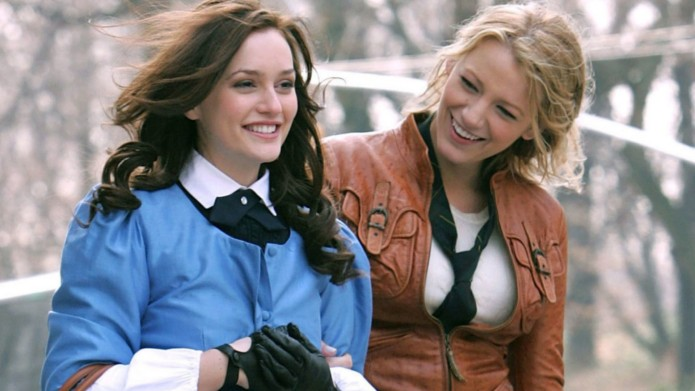Leighton Meester and Blake Lively in
