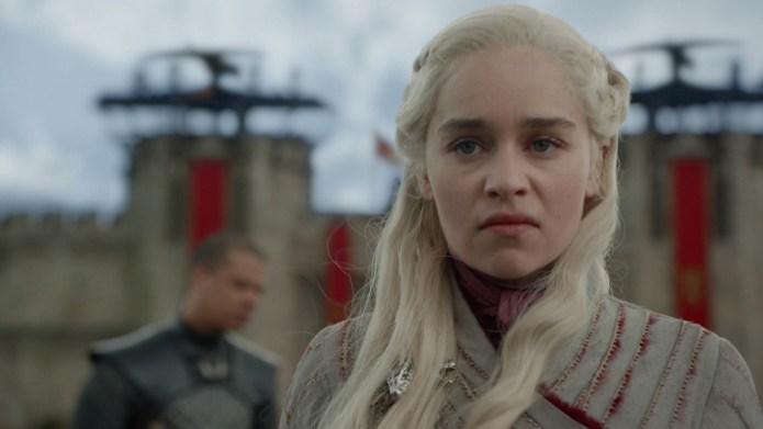 Daenerys at King's Landing looking mad