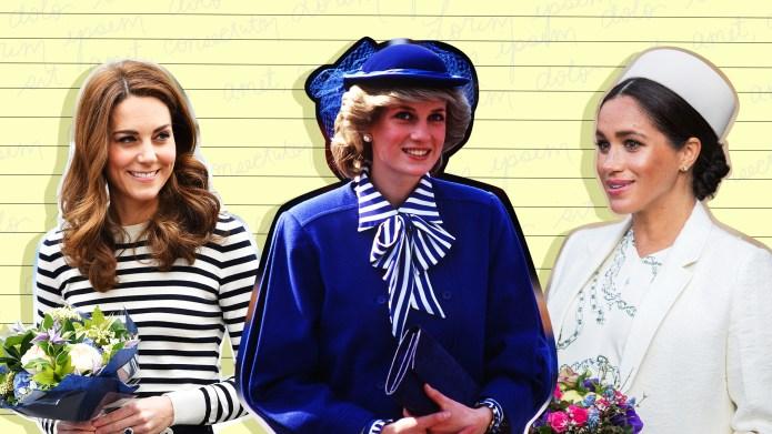 kate middleton, meghan markle and princess
