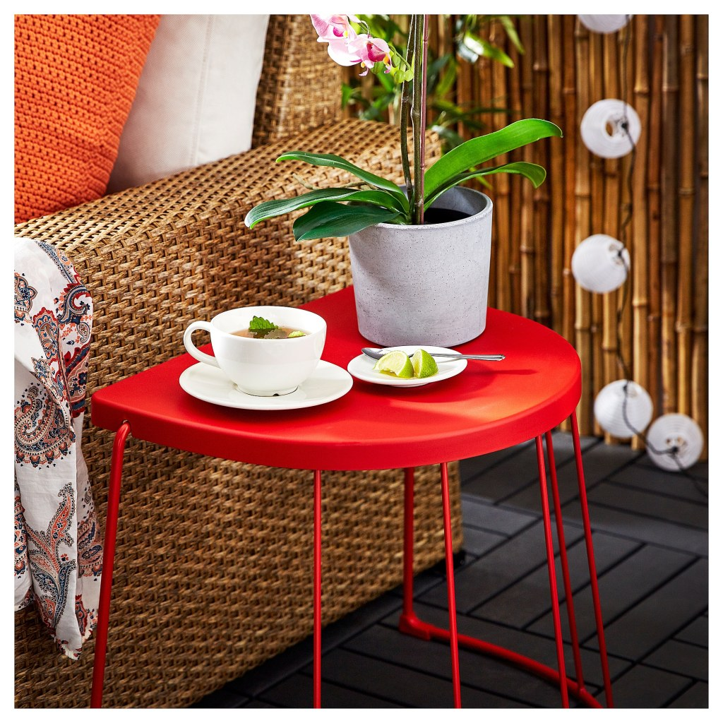 Affordable Outdoor Furniture: Affordable Outdoor Furniture: TRANARÖ Stool/Side Table