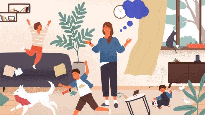 Mom Fantasizes About Life Without Kids