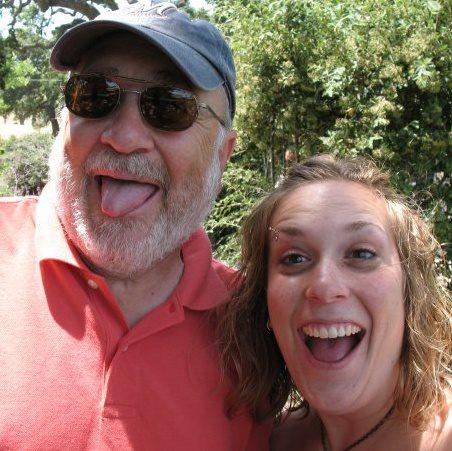 Kate Munagian and dad