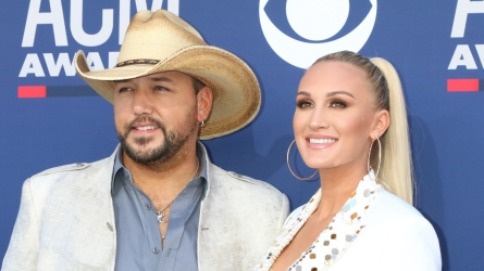Jason Aldean, Brittany Kerr at the