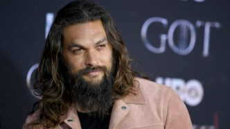 Jason Momoa red carpet 'Game of
