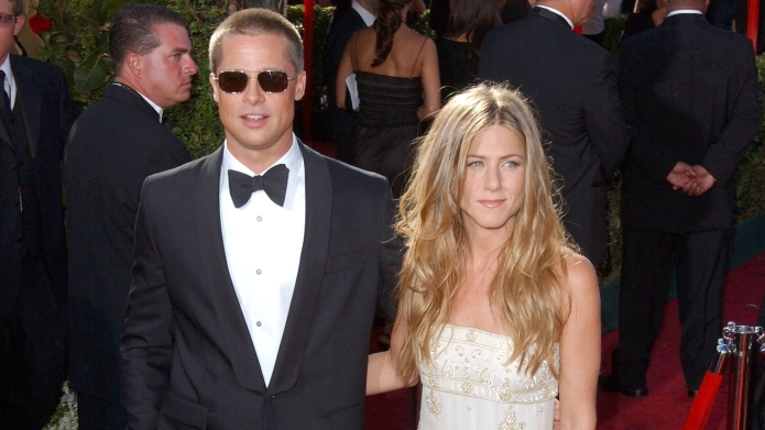 Brad Pitt and Jennifer Aniston56TH ANNUAL