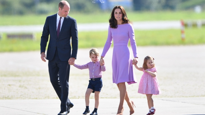 Why Kate Middleton Can't Travel with Her Husband & Son at the Same Time