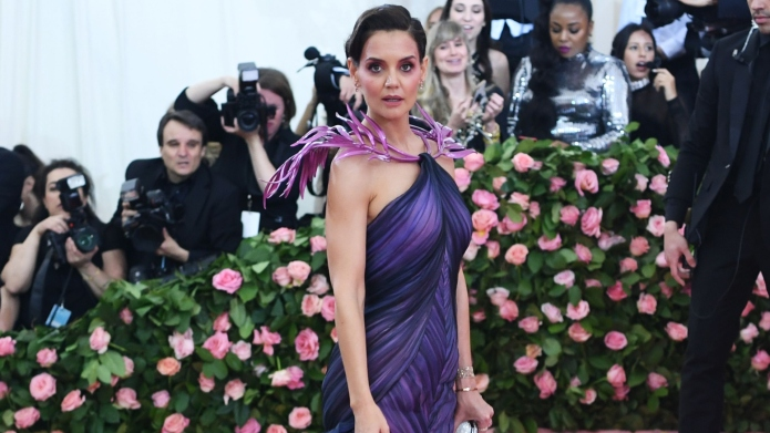 Katie Holmes at the 2019 Met