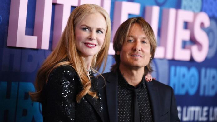 Nicole Kidman and Keith Urban at