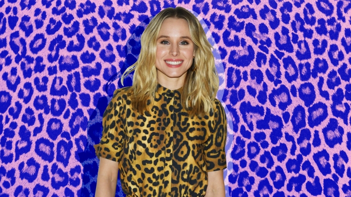 """Kristen Bell is Having a """"Dad-Style"""" Mother's Day"""