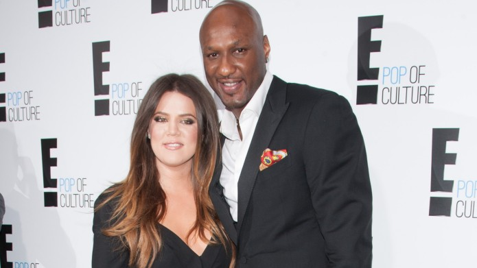 Khloe Kardashian and Lamar Odom at2012