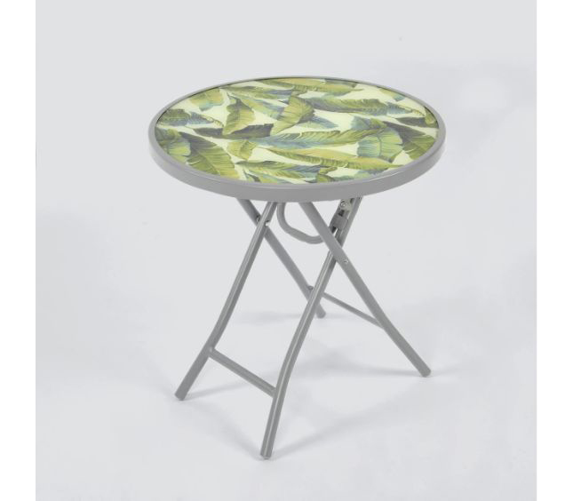 Affordable Outdoor Furniture: Affordable Outdoor Furniture: Folding Patio Accent Table