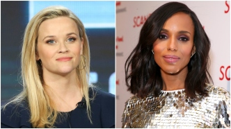 Reese Witherspoon; Kerry Washington.