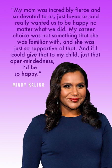 Powerful Quotes About Motherhood From Our Favorite Celebrity Moms: Mindy Kaling