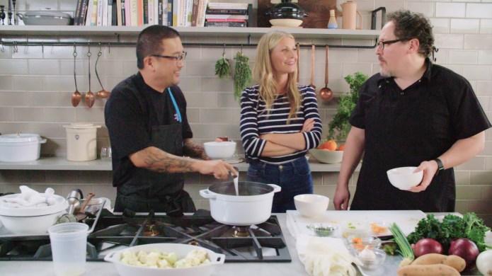 'The Chef Show' with Jon Favreau.