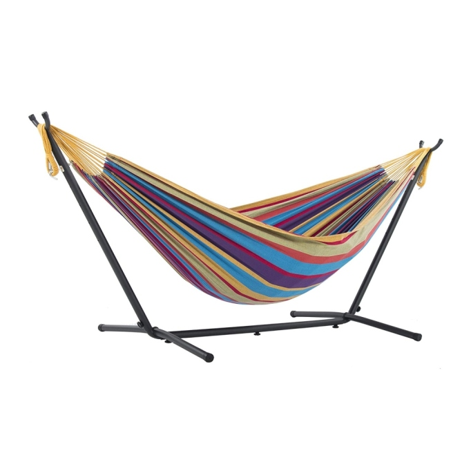 Best hammock for yard with no trees.