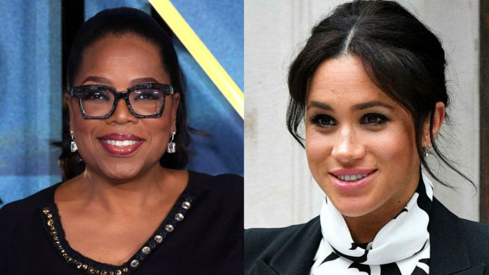 Photo of Oprah and Meghan Markle