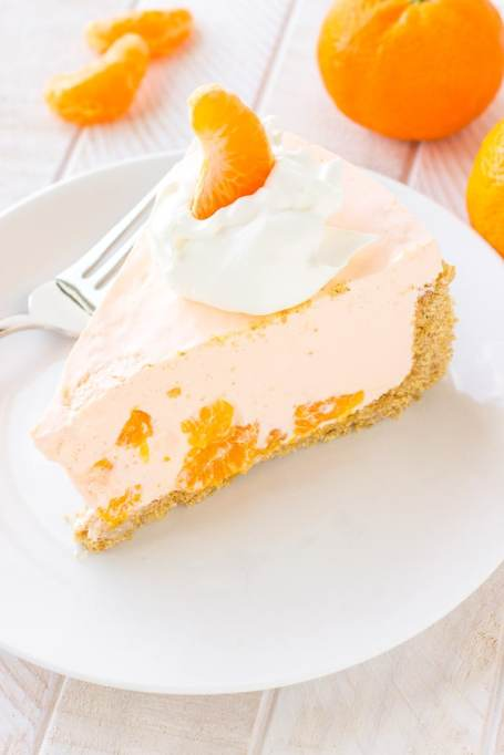 No bake orange cream pie.