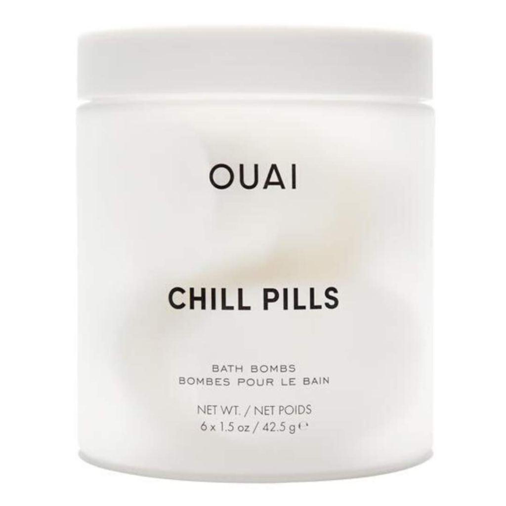 Ouai Chill Pills Bath Fizz