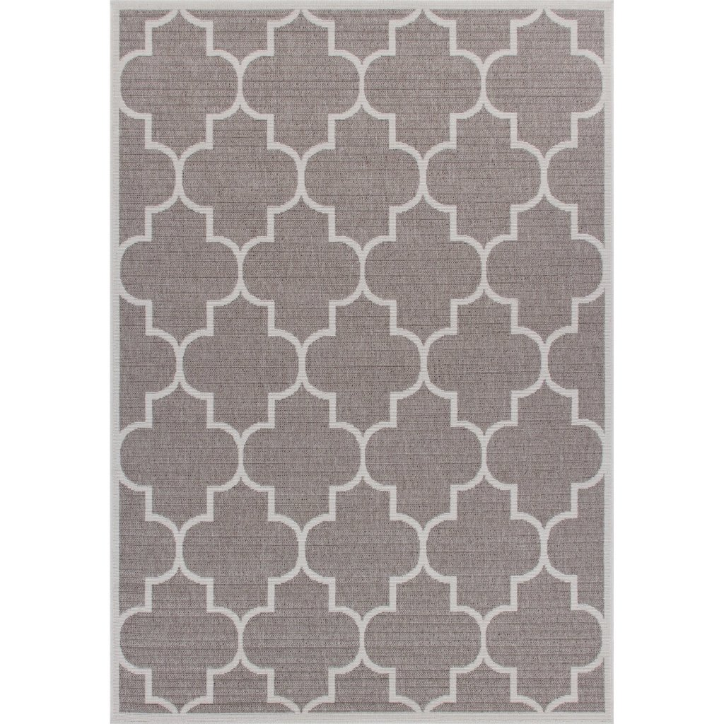 Affordable Outdoor Furniture: Affordable Outdoor Furniture: Zachery Weather-Proof Gray Indoor/Outdoor Area Rug