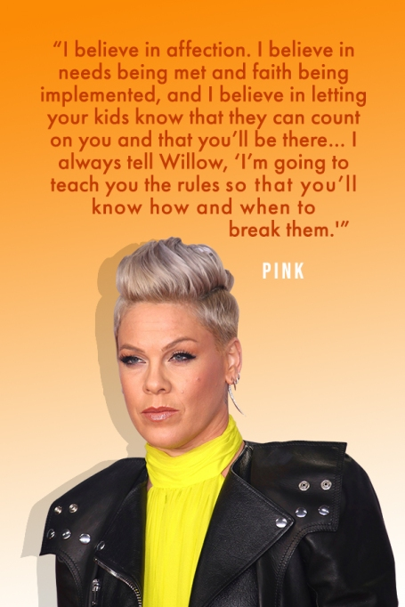 Powerful Quotes About Motherhood From Our Favorite Celebrity Moms: Pink