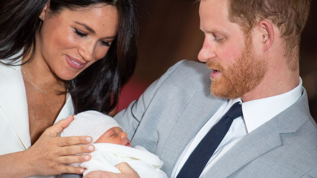 Prince Harry, Duchess Meghan of Sussex and Baby Archie
