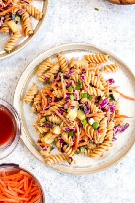 Thai pasta salad.