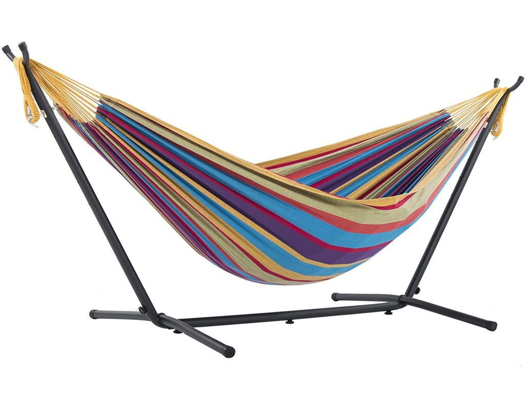 Affordable Outdoor Furniture: Affordable Outdoor Furniture: Vivere Double Hammock With Stand