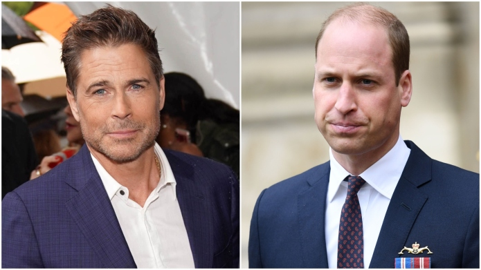 Rob Lowe; Prince William.