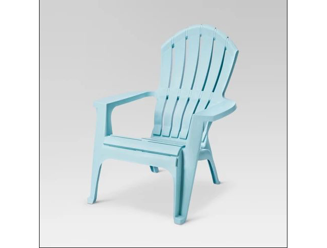 Affordable Outdoor Furniture: Affordable Outdoor Furniture: RealComfort Resin Adirondack Chair