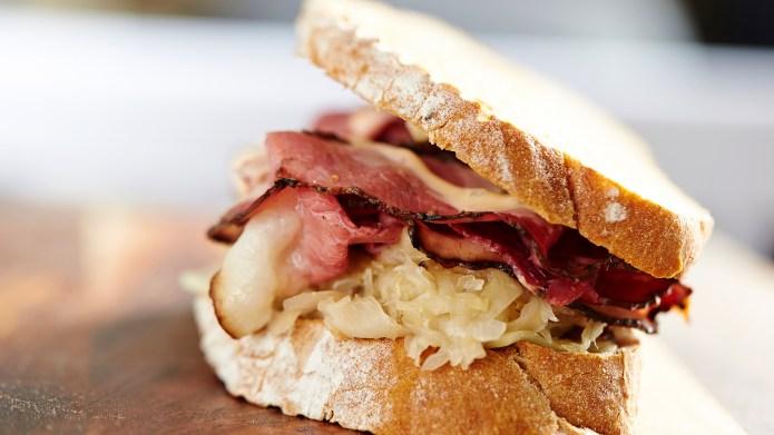 Roast beef sandwich ; Shutterstock ID