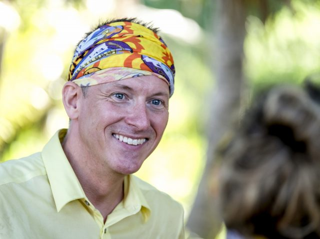 Ron Clark competes on Survivor: Edge of Extinction