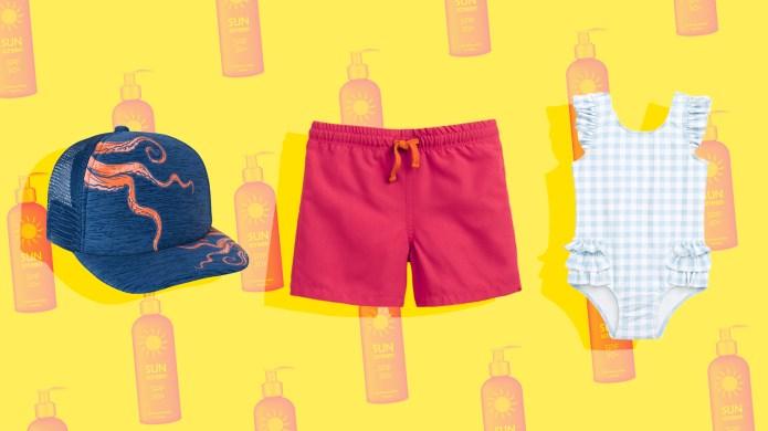 Sun-Safe Swimwear for Kids