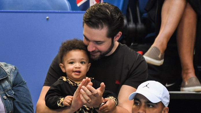 Alexis Ohanian and Alexis Olympia Ohanian