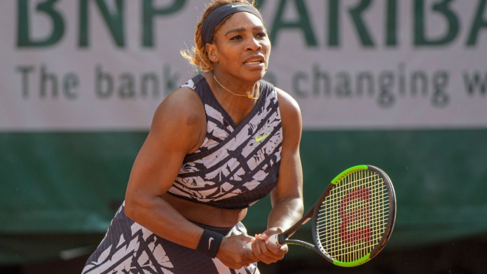 Serena Williams at French Open Tennis
