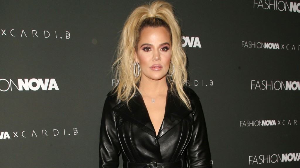 Khloe Kardashian at Fashion Nova x Cardi B launch event