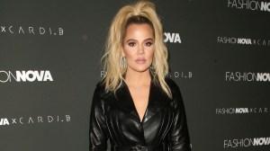 Khloe Kardashian at Fashion Nova x Cardi B launch event