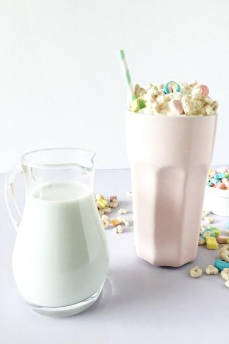 Single malt cereal milk shake.