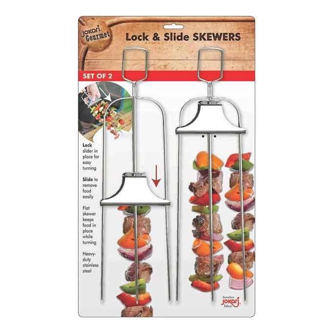 Lock & Slide Skewers