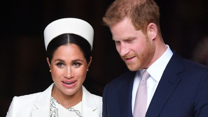 Meghan and Harry at Commonwealth Day