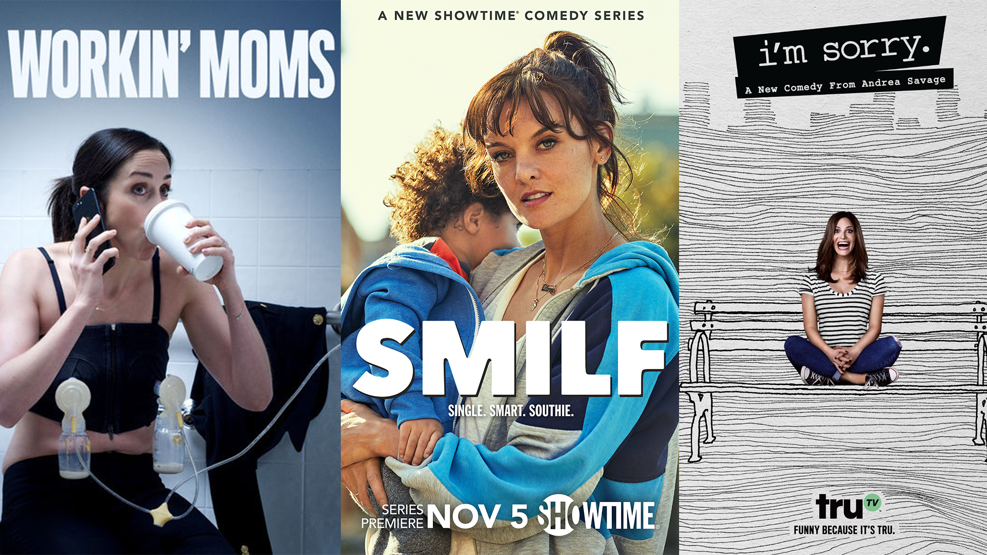 Andrea Savage Sexy 9 tv shows about modern moms you can easily binge on