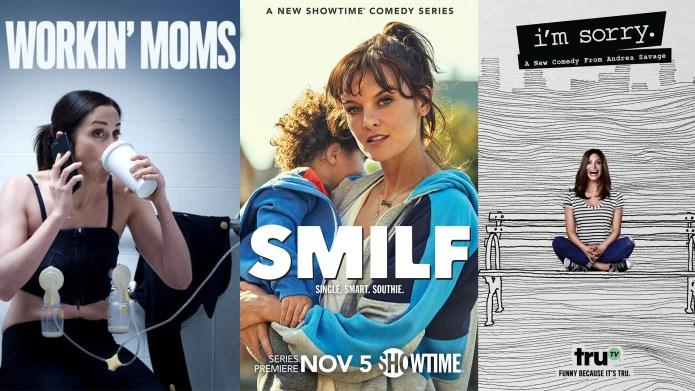 i'm sorry, smilf, working moms netflix