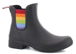 Eastlake Chelsea Pride Boots Black