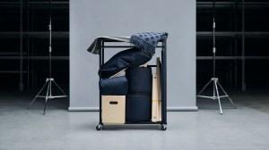 Ikea ravaror sofa end table folded