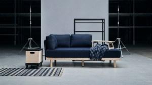 Ikea ravaror sofa end table combo