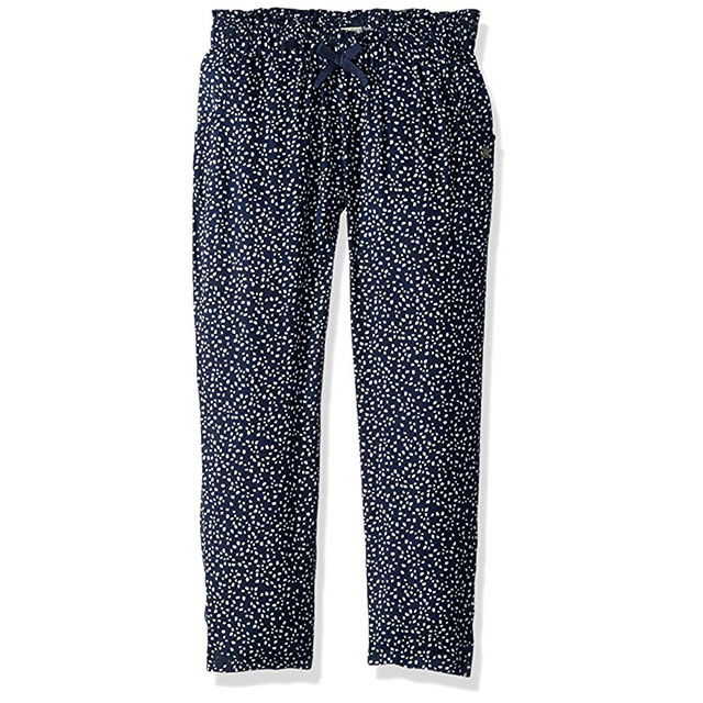 Back-to-School Clothes for Kids: Roxy Girls' Loose Dress Pants in Blue Dots