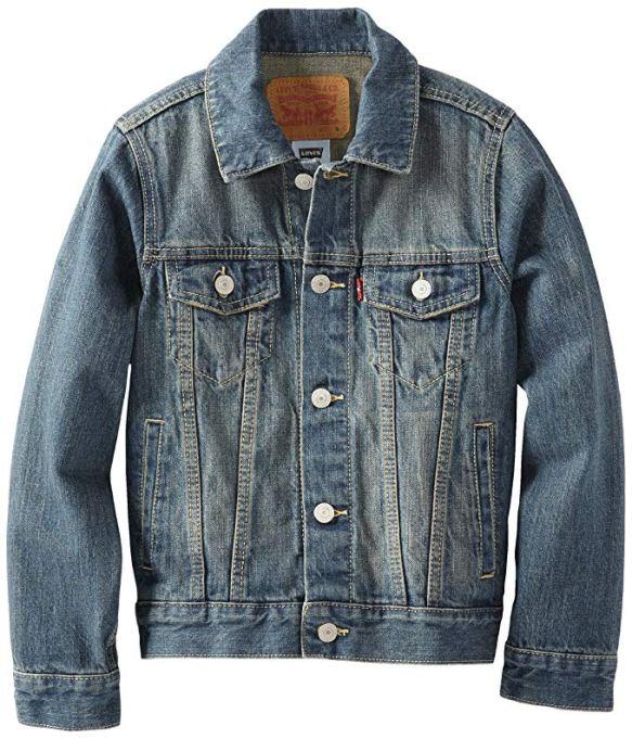 Back-to-School Clothes for Kids: Levis Boys' Denim Trucker Jacket in Atlas