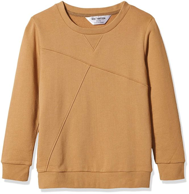 Back-to-School Clothes for Kids: Gender-Neutral Pullover Sweater from Kid Nation
